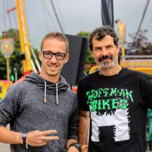 Kévin Meyer (gauche)